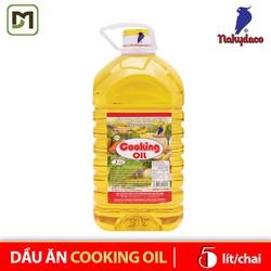 [Trợ giá 15k Ship] Dầu ăn Cooking Oil chai 5L dầu thực vực tinh luyện - Nakydaco chính hãng