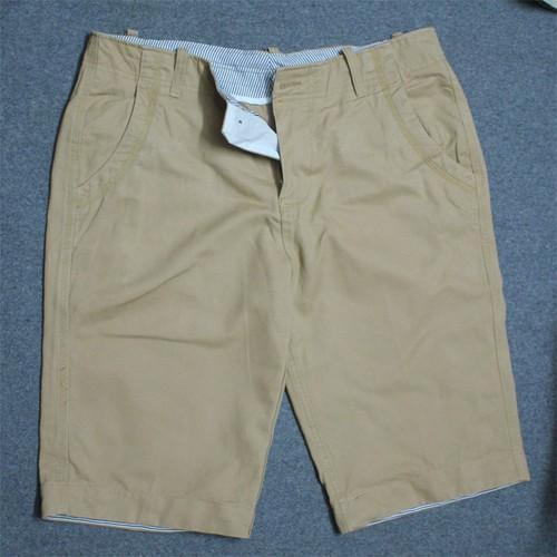 Quần shorts kaki trung niên màu cam nhạt