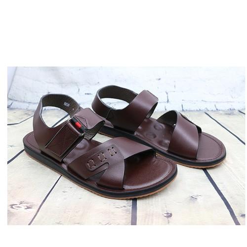 Giày sandal da nam cao cấp lamhung ahh209