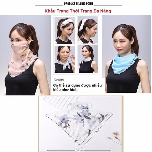 Khẩu Trang Thời Trang Đa Năng Hàn Quốc Siêu Hot