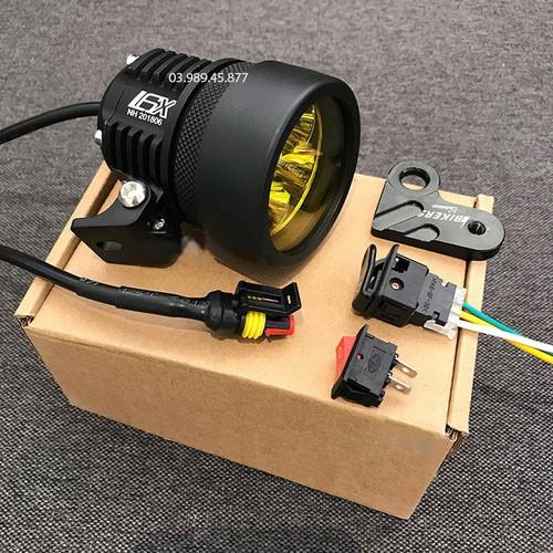 Siêu khuyến mại bộ 2 đèn led l6x full phụ kiện - siêu khuyến mại bộ 2 đèn led l6x full phụ kiện