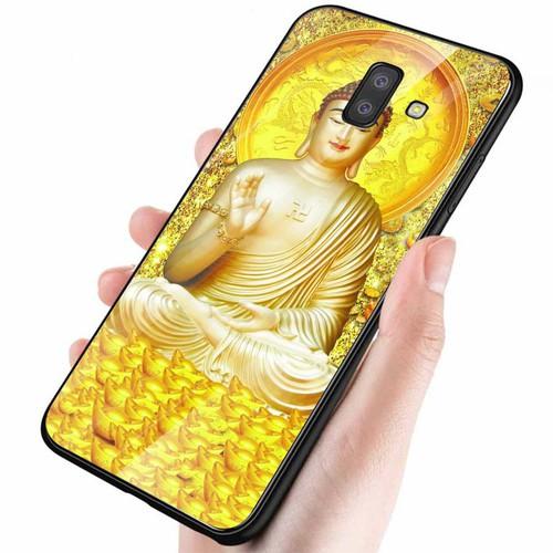 Ốp điện thoại kính cường lực cho máy samsung galaxy a6 2018 - tôn giáo ms tgiao040