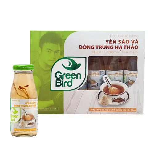 Hộp quà green bird - nước uống bổ dưỡng yến sào và đông trùng hạ thảo 6 chai 185ml - 12675145 , 20540883 , 15_20540883 , 208000 , Hop-qua-green-bird-nuoc-uong-bo-duong-yen-sao-va-dong-trung-ha-thao-6-chai-185ml-15_20540883 , sendo.vn , Hộp quà green bird - nước uống bổ dưỡng yến sào và đông trùng hạ thảo 6 chai 185ml