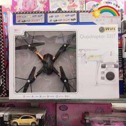 Đồ Chơi Trẻ Em Đĩa bay 4 cánh có camera màu đen  [ĐỒ CHƠI TRÍ TUỆ]