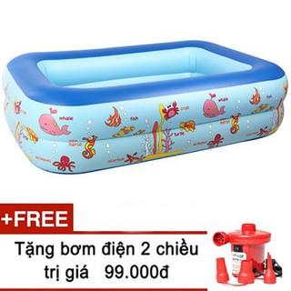 Bể bơi phao cho bé 1m2 - bể m2 - Bể bơi phao cho bé 1m2 - bể m2 thumbnail