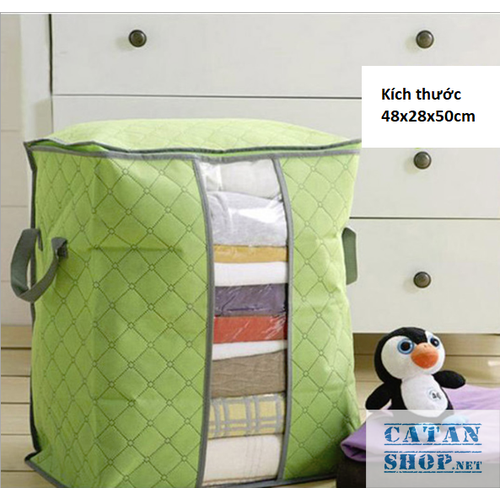 Túi đựng chăn màn dáng đứng , đựng quần áo, đồ tiện dụng gd181-tcm-dung [giao ngẫu nhiên]