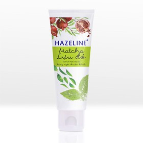 Sữa Rửa Mặt Sáng Da Hazeline Matcha - Lựu Đỏ 100g - 8934868128144