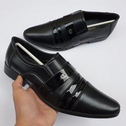 Giày nữ, giày cao gót kitten heel Erosska mũi nhọn cao 2cm mũi nhọn phối dây thời trang – EL004 (BA)