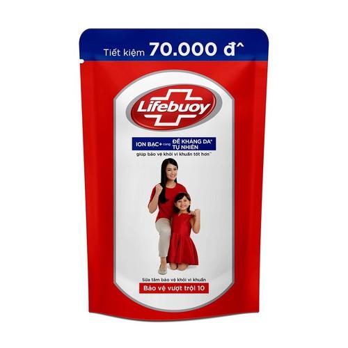 Sữa tắm lifebuoy bảo vệ vượt trội dạng túi 850g - 12674745 , 20540410 , 15_20540410 , 122500 , Sua-tam-lifebuoy-bao-ve-vuot-troi-dang-tui-850g-15_20540410 , sendo.vn , Sữa tắm lifebuoy bảo vệ vượt trội dạng túi 850g