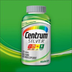 CENTRUM SILVER Adults 50+ Vitamin Nam Nữ 325V