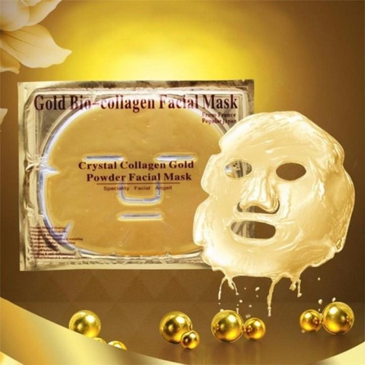 [ TẶNG 10K PHÍ SHIP CHO ĐƠN 50K] Combo 5 Mặt Nạ Vàng Collagen Gold Collagen Facial Mask