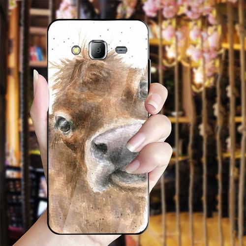 Ốp điện thoại kính cường lực cho máy Samsung Galaxy J2 Prime - dễ thương muốn xỉu MS CUTE027