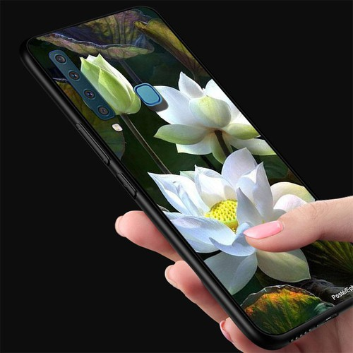 Ốp điện thoại kính cường lực cho máy samsung galaxy a9 2018 - a9 pro - đủ nắng thì hoa nở ms dnthn025