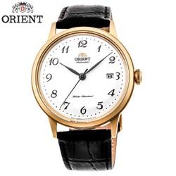Đồng hồ Nam Chính Hãng Orient RA-AC0002S10B , Bambino Automatic , Dây Da , Kính Cong 3D , Chống Nước