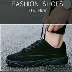 Giày Thể Thao Nam Full Đen – Giày nam – Giày Sneakers