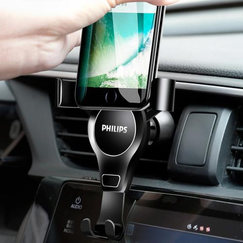 Giá đỡ điện thoại cài hốc gió trên ô tô cao cấp Philip DLK3412N