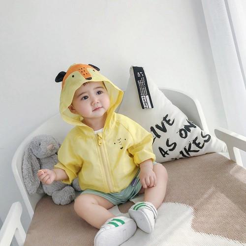 Áo khoác bé trai hình con cáo