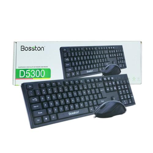 Combo chuột phím bosston d5300 chính hãng