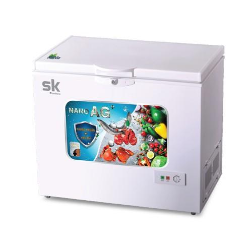 Tủ đông sumikura 116 lít skfcs-116 đồng r600a