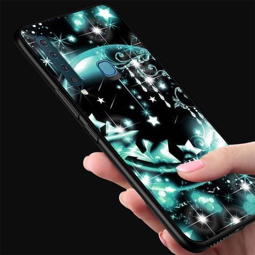 Ốp kính cường lực cho điện thoại samsung galaxy a9 2018 - a9 pro - lung linh sắc màu ms llsm063