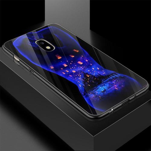 Ốp điện thoại kính cường lực cho máy samsung galaxy j7 pro - phía sau một cô gái ms ps1cg001