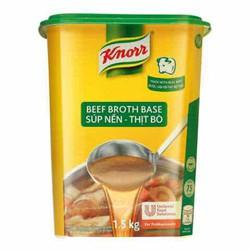 Bột súp nền thịt bò Knorr hũ 1.5Kg
