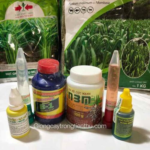 Combo-6 loại b1 kích rễ n3m keiky chế phẩm thuốc phòng trị nấm vi rút vi khuẩn cho lan và cây cảnh