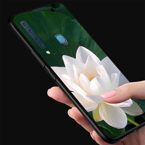 Ốp điện thoại kính cường lực cho máy samsung galaxy a9 2018 - a9 pro - đủ nắng thì hoa nở ms dnthn022