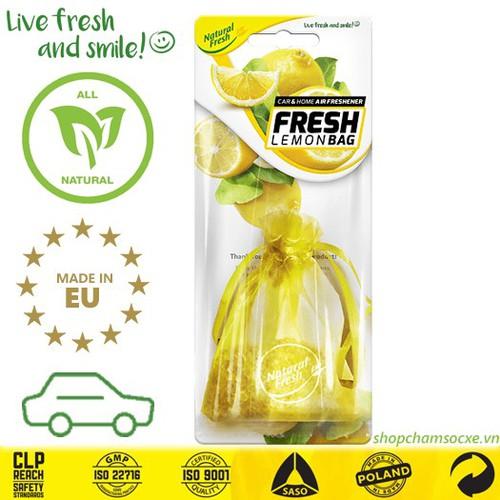 Túi thơm treo xe hơi nf fresh bag lemon