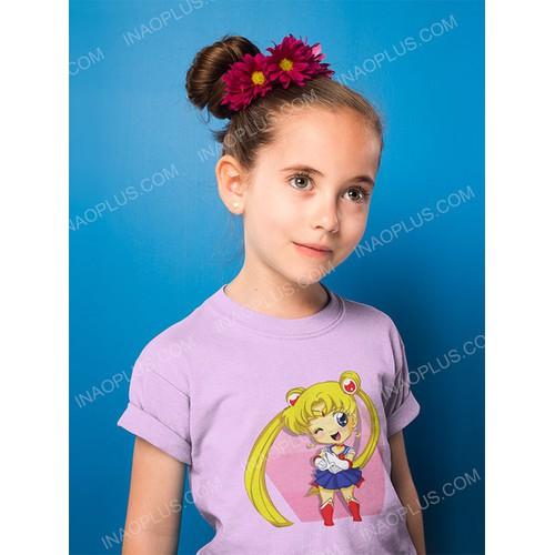 In áo hình thủy thủ mặt trăng cho bé gái- 6 mẫu