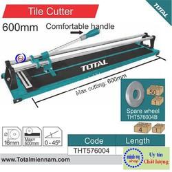Bàn cắt gạch đẩy tay Total 600mm - THT576004
