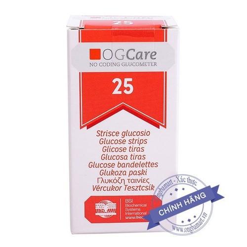 Que sử dụng cho máy đo đường huyết ogcare - hộp 25 que - 12706087 , 20583929 , 15_20583929 , 159000 , Que-su-dung-cho-may-do-duong-huyet-ogcare-hop-25-que-15_20583929 , sendo.vn , Que sử dụng cho máy đo đường huyết ogcare - hộp 25 que