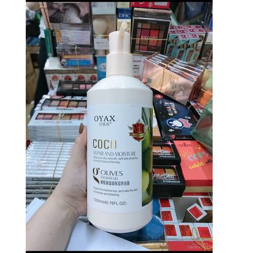 Sữa tắm olive dưỡng ẩm coco hàn quốc 1300ml