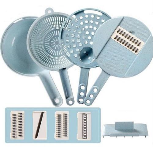 Bộ dụng cụ chế biến rau củ quả đa năng với các lưỡi dao inox không han gỉ - 12698129 , 20573132 , 15_20573132 , 80000 , Bo-dung-cu-che-bien-rau-cu-qua-da-nang-voi-cac-luoi-dao-inox-khong-han-gi-15_20573132 , sendo.vn , Bộ dụng cụ chế biến rau củ quả đa năng với các lưỡi dao inox không han gỉ