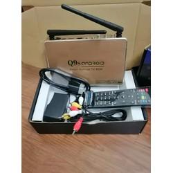 ĐẦU THU TV BOX Q9S MẪU MỚI CHẠY MƯỢT