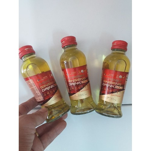 Combo 2 chai nước sâm có củ 120ml korea in sam