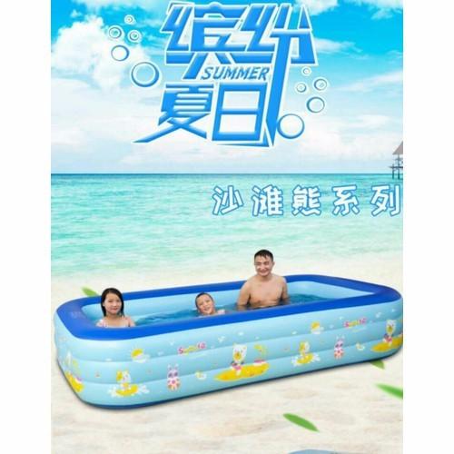 Bể phao 3 tầng loại trung 150cm - bể bơi 3 - 12137510 , 20583519 , 15_20583519 , 399000 , Be-phao-3-tang-loai-trung-150cm-be-boi-3-15_20583519 , sendo.vn , Bể phao 3 tầng loại trung 150cm - bể bơi 3