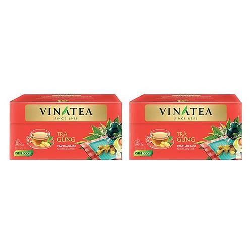 Combo 2 hộp Trà Vinatea Trà gừng ++ túi lọc 40g thuộc dòng trà thảo mộc - 11849230 , 20566506 , 15_20566506 , 86000 , Combo-2-hop-Tra-Vinatea-Tra-gung-tui-loc-40g-thuoc-dong-tra-thao-moc-15_20566506 , sendo.vn , Combo 2 hộp Trà Vinatea Trà gừng ++ túi lọc 40g thuộc dòng trà thảo mộc