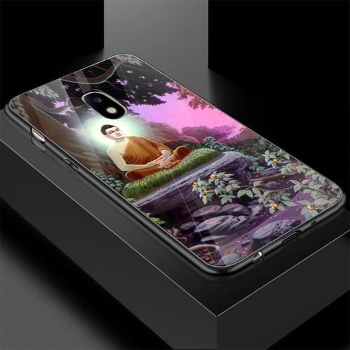 Ốp điện thoại kính cường lực cho máy samsung galaxy j3 pro - j3 30 - tôn giáo ms tgiao056