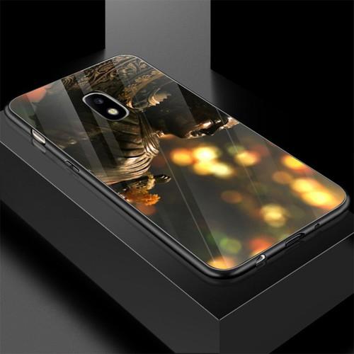 Ốp điện thoại kính cường lực cho máy samsung galaxy j3 pro - j3 30 - tôn giáo ms tgiao054