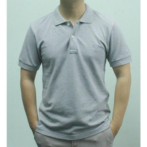 Áo thun ngắn tay nam màu ghi - ao thun nam 23