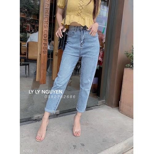 Quần baggy jeans nữ