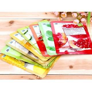 Mặt Nạ dưỡng da Hàn Quốc 3D Foodaholic Trái Cây Thiên Nhiên - 3DHQ - mn032 thumbnail