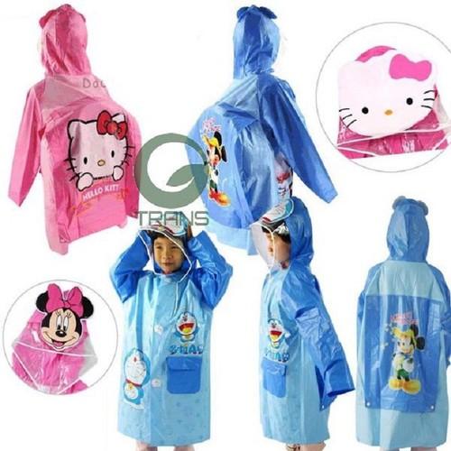 Áo mưa trẻ em dễ thương