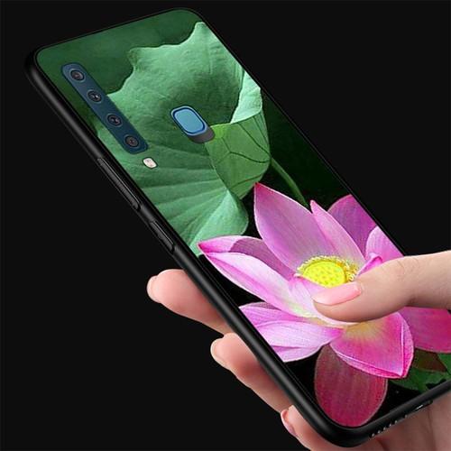 Ốp điện thoại kính cường lực cho máy samsung galaxy a30 - đủ nắng thì hoa nở ms dnthn015