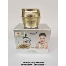 Kem trị nám da HuaYueNong đông trùng hạ thảo loại bỏ đốm nâu tàn nhang làm trắng hồng da - HX2085