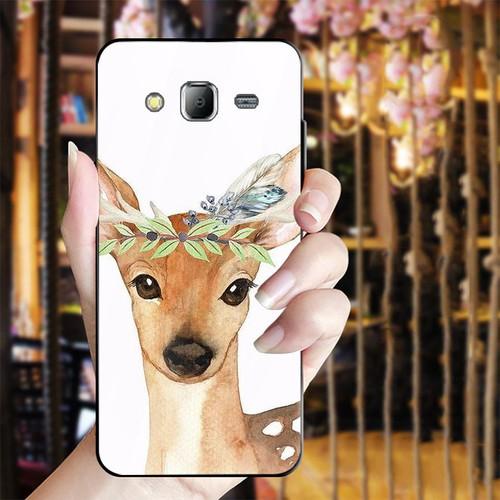 Ốp kính cường lực cho điện thoại Samsung Galaxy J2 Prime - dễ thương muốn xỉu MS CUTE009