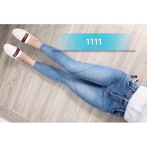 Quần jeans trơn nữ