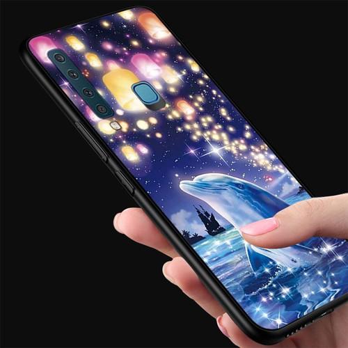 Ốp kính cường lực cho điện thoại samsung galaxy m20 - lung linh sắc màu ms llsm061