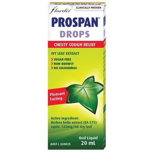Siro chữa ho cho bé dạng nhỏ giọt prospan infant drops chesty cough relief 20ml